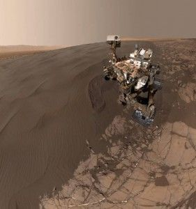 Un Selfie en Marte