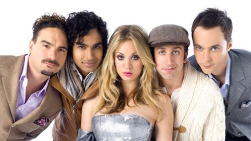 Protagonistas de Big Bang Theory